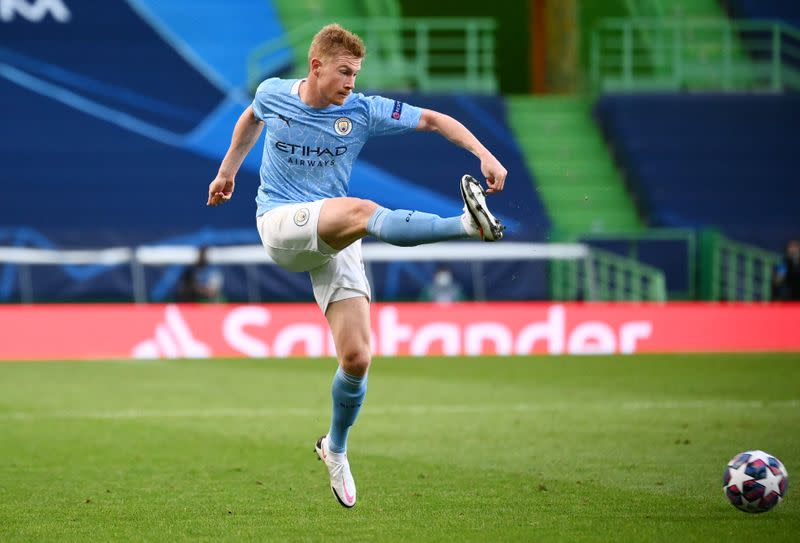 De Bruyne to miss Arsenal match, Aguero back in training