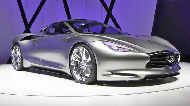 Infiniti Emerg-E concept brings urgency to future electric sports cars