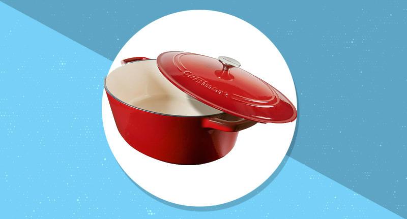Cuisinart cast iron casseroles are sturdy workhorses in the kitchen. (Photo: Amazon)