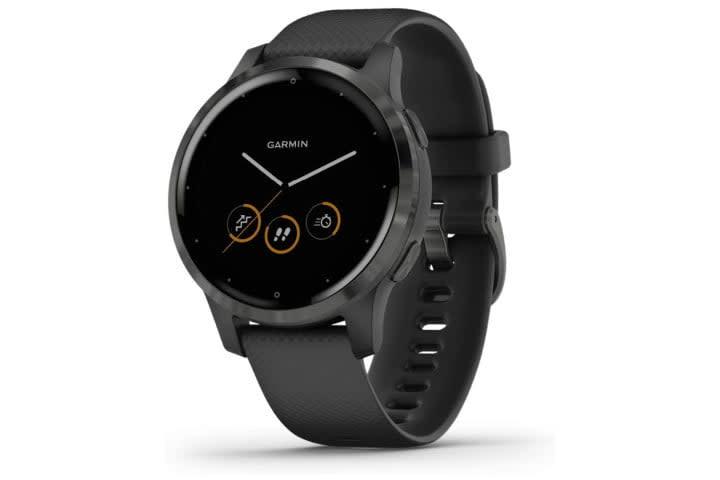 Picture shows the Garmin Vivoactive 4 smartwatch
