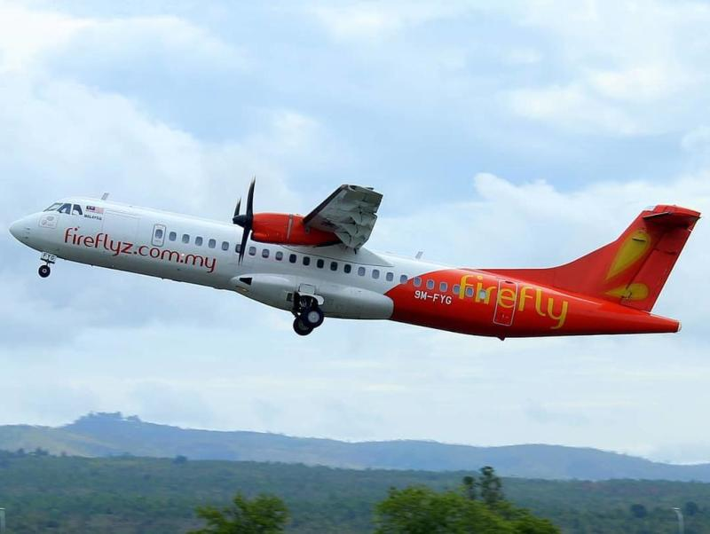 Firefly suspended its Singapore flights five months ago after Malaysia objected to the Singapore government's new Instrument Landing System procedures for Seletar Airport. — Picture courtesy of Aceh TWICE Plane Spotter via Facebook