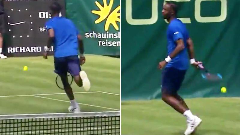 Gael Monfils, take a bow. Image: Tennis TV