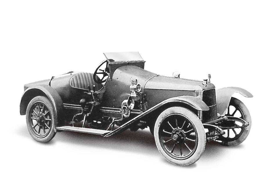 2.Coal Scuttle (1915) - The first Aston Martin (Registered on 16th March). It is christened 'Coal Scuttle' and powered by a 1389cc Coventry Climax engine (AMHT)