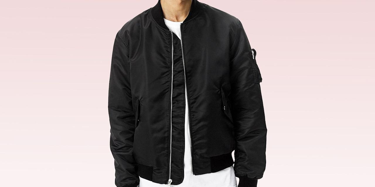 """<p class=""""body-dropcap"""">Damn, man. When it comes to the bomber jacket where do we even begin? Sure, we could discuss the style's origins as a classic military silhouette issued to members of the U.S. Air Force in the '50s, or the way it was embraced by subcultures on the fringes of society a few decades later, or, hell, its associations with icons of the big screen in the broader popular psyche today. But you probably know all that by now. At the end of the day, the only thing you really need to know about the bomber jacket is that it just looks <em>cool</em>. Always has, always will. It's that simple, honestly. </p><p>When the bomber jacket came roaring back into style in the mid 2010s (helped along, to no one's surprise, by a certain influential hip-hop <a href=""""https://www.esquire.com/style/a42369/alpha-industries-profits-up-30-percent-kanye-west/"""" title=""""https://www.esquire.com/style/a42369/alpha-industries-profits-up-30-percent-kanye-west/"""">personality</a>) all the real heads that'd been fucking with it for years rolled their eyes and went back to the old-school Corvettes they were tinkering with in the back of their garages or something. It sure as hell doesn't take a certified <a href=""""https://www.esquire.com/style/mens-fashion/g33074328/kanye-west-outfits/"""" title=""""https://www.esquire.com/style/mens-fashion/g33074328/kanye-west-outfits/"""">style visionary</a> to appreciate the jacket's timeless appeal, but Kanye's cosign didn't hurt. Ye's preferred jacket, from the legendary Alpha Industries—the brand behind the nylon MA-1 silhouette damn near synonymous with the style today—is still widely available, but the bomber's been a big deal long enough that your favorite designer's favorite designer almost certainly offers a take on the silhouette, too. </p><p>And sure, recommending you rock a bomber jacket as soon as we hit lightweight outerwear weather is far from groundbreaking. I get it. But sometimes we overlook the obvious, forgetting that what we love best has """