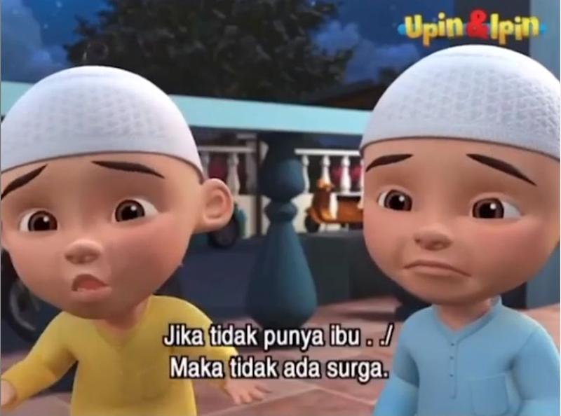 Indonesian fans are demanding an apology from the character Fizi, a friend of the titular twins. — Screengrab from Instagram/@upinipinofficial