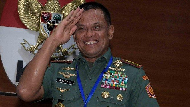 Jenderal Gatot Punya Harta Rp26 Miliar saat Jadi Panglima TNI