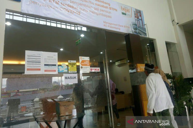 Penarikan dana pensiun BTPN Palembang lewat ATM meningkat