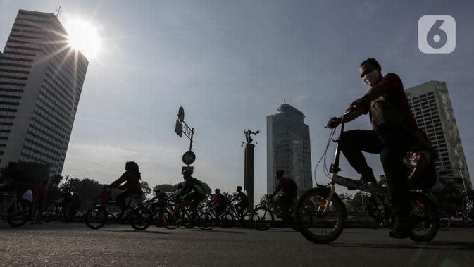 150 Satpol PP Kawal 8 Lokasi CFD di Jakarta Pusat