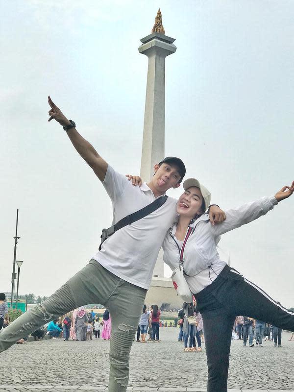 Momen Manis Caesar Hito dan Felicya Angelista. (Sumber: Instagram.com/felicyangelista_)