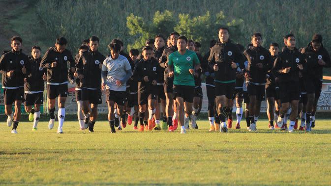 Timnas Indonesia U-19 menggela pemusatan latihan di Kroasia sebagai persiapan tampil di Piala AFC U-19 2020. (dok. PSSI)
