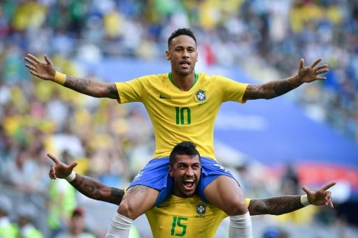 Brazil remain on course for a sixth World Cup win