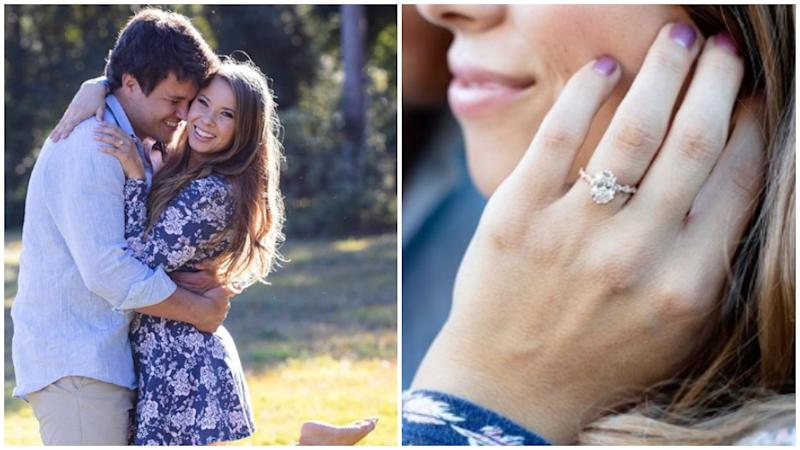 Details about Bindi Irwin's stunning engagement ring have emerged. Photo: Instagram/bindisueirwin