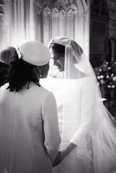 Meghan Markle and Prince Harry unseen wedding photos