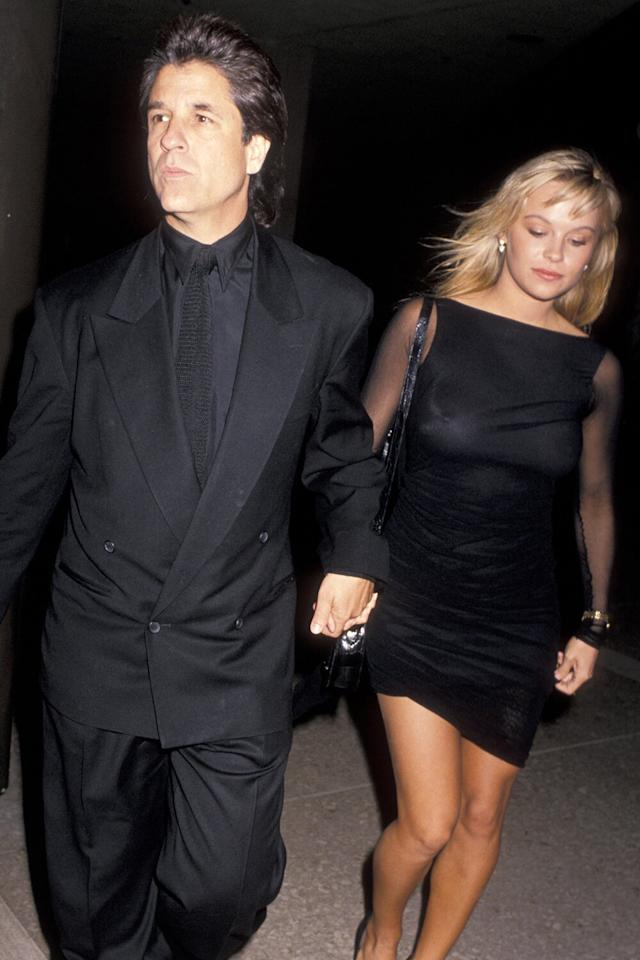 """The actress and activist <a href=""""https://people.com/movies/surprise-pamela-anderson-marries-star-is-born-producer-jon-peters-in-secret-wedding/"""">secretly tied the knot</a> with movie mogul <a href=""""https://people.com/movies/all-about-pamela-anderson-new-husband-jon-peters/"""">Jon Peters</a> on Jan. 20 in Malibu — 30 years after he first proposed. 12 days later, they announced their split.  In the decades that she and Peters spent apart, Anderson, 52, was married four times, to three different husbands. Here, a look back at her history of on-and-off relationships with some of Hollywood's biggest names, and how they led her back to the man who has """"been there all along"""" — and why they quickly decided to not to legalize their marriage."""