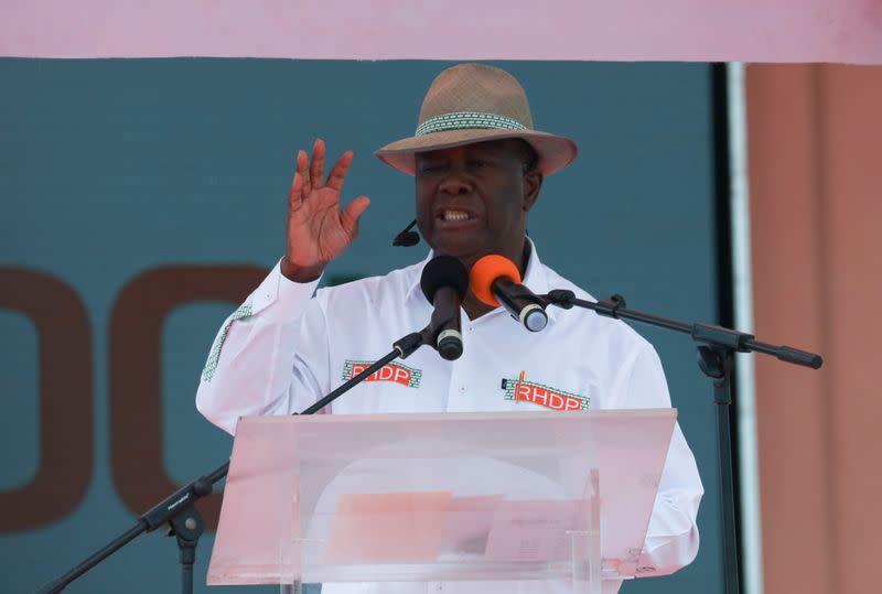 Ivory Coast council approves President Ouattara for third term bid