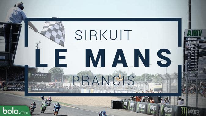 MotoGP_Sirkuit Le Mans_Prancis (Bola.com/Adreanus Titus)