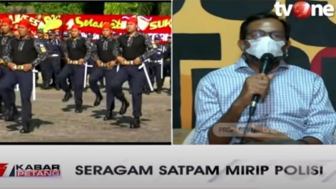 Seragam Satpam Mirip Polisi, Haris Azhar: Konyol, Tak Ada Urgensinya