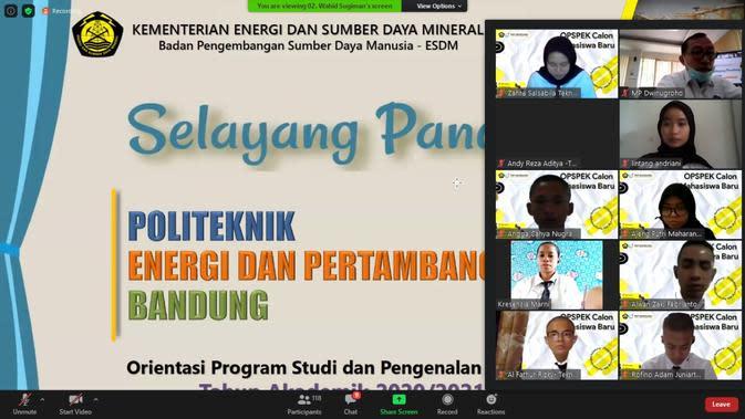 Politeknik Energi dan Pertambangan Bandung.