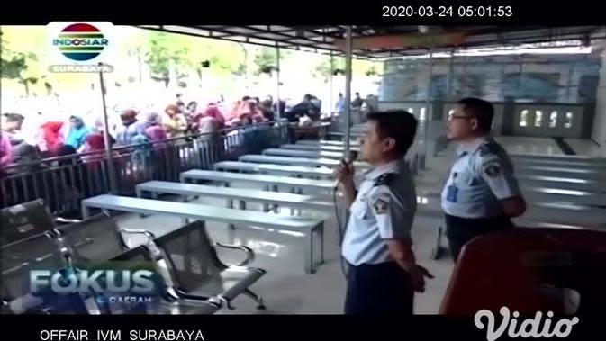 VIDEO: Lapas Kelas IIB Jombang Batasi Kunjungan Narapidana
