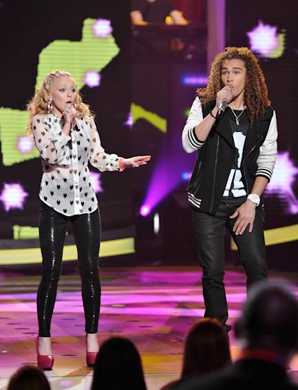 Hollie Cavanagh and DeAndre Brackensick - 4/04/12