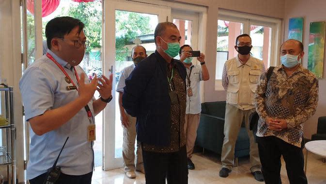 Dirjen Peternakan dan Kesehatan Hewan Kementan Nasrullah melakukan kunjungan kerja ke Pusat Veteriner Farma (Pusvetma). (Dok Kementan)