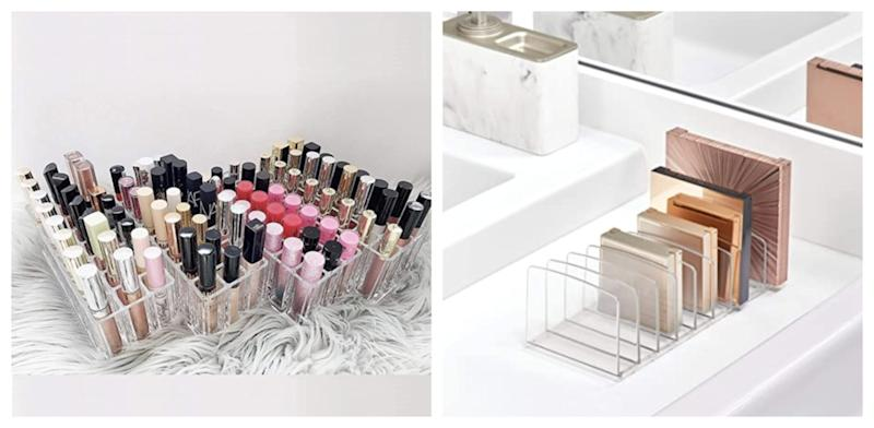 It's time to get organized and take control of your makeup collection.