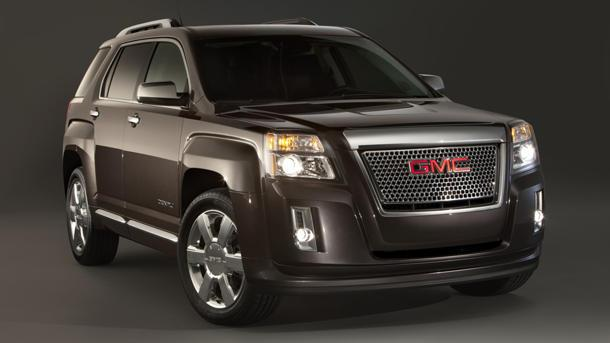 GMC blings the Terrain Denali, Fiat's CEO gets paid and lobbying against a Crimson tide in the Dash