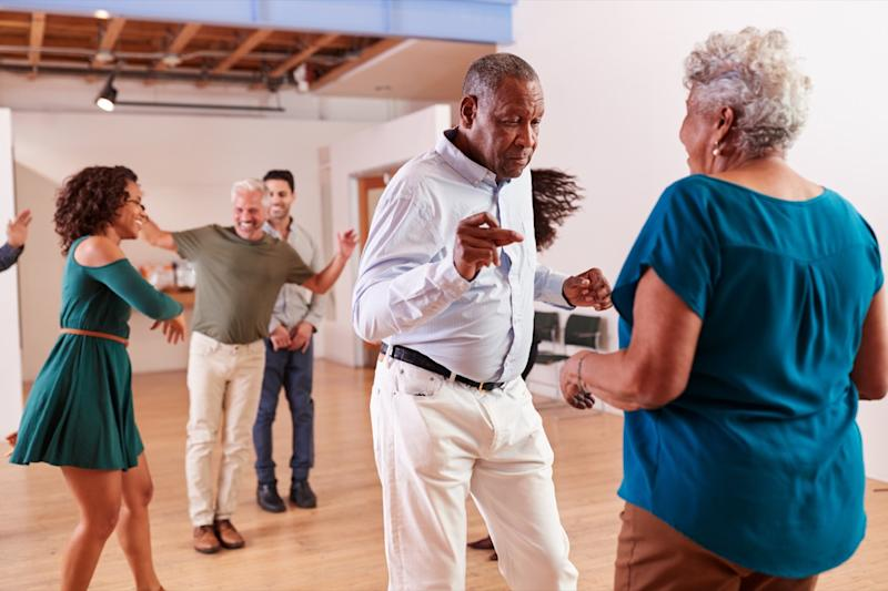 Dance class older people