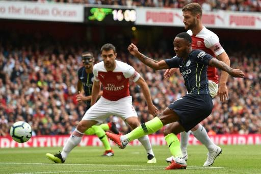 Raheem Sterling led the charge for Manchester City in their win at Arsenal