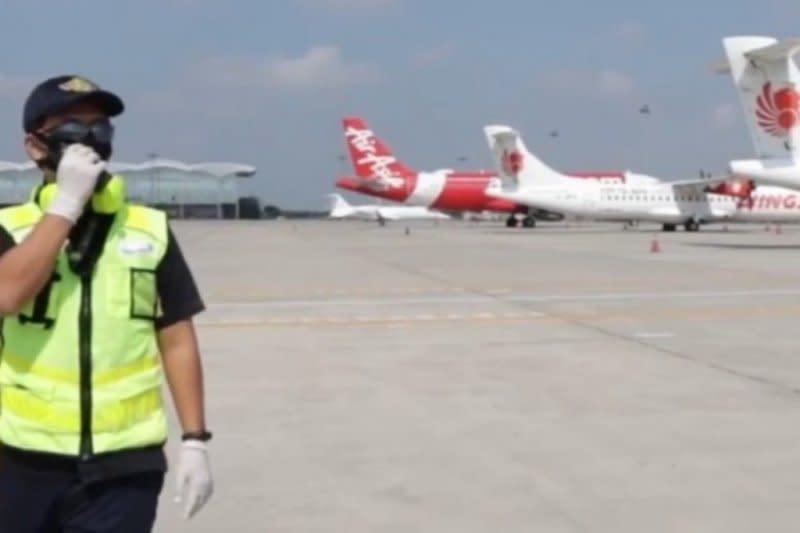 Bandara Kualanamu wujudkan penerbangan aman di tengah COVID-19