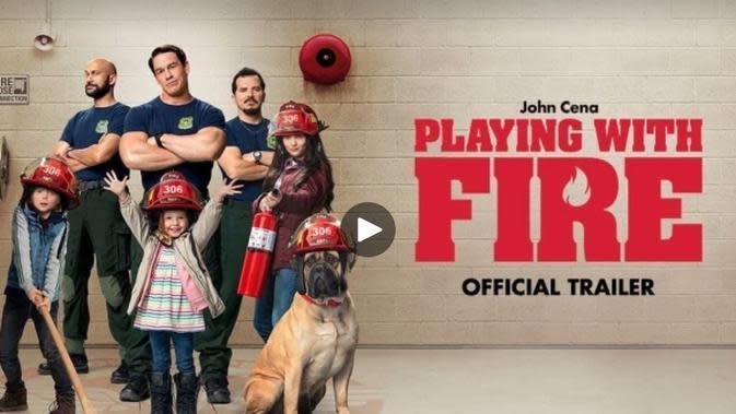 Film Playing with Fire Sedang Tayang di Bioskop, Simak Trailernya