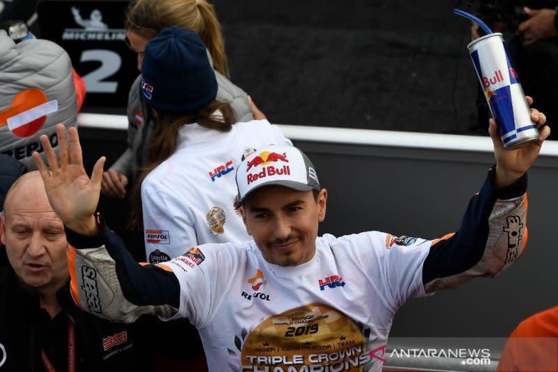 Lorenzo, Biaggi dan Anderson siap dinobatkan sebagai legenda MotoGP
