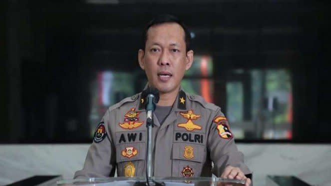 Kepala Biro Penerangan Masyarakat Divisi Humas Polri Brigjen Pol Awi Setiyono