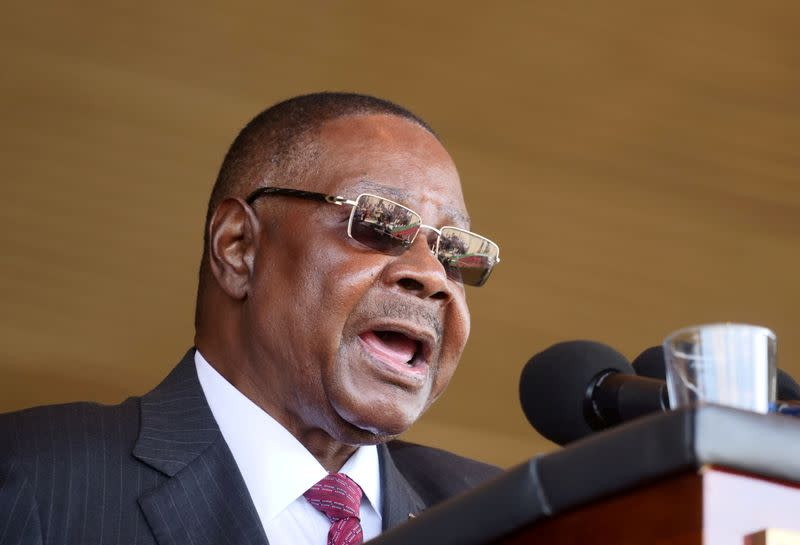 Embattled Malawi president dissolves cabinet