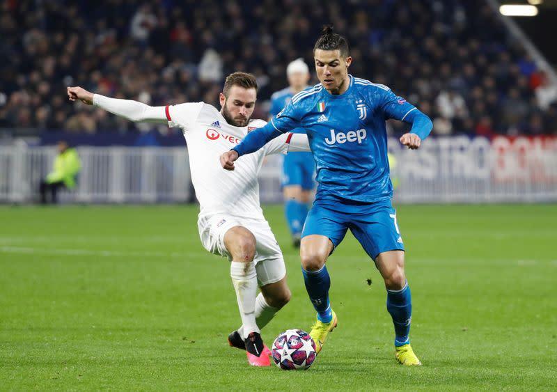 -spoChampions League - Round of 16 First Leg - Olympique Lyonnais v Juventus