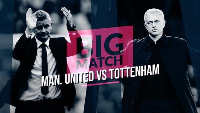 VIDEO: Manchester United Vs Tottenham Hotspur, Laga Spesial dan Pembuktian Jose Mourinho