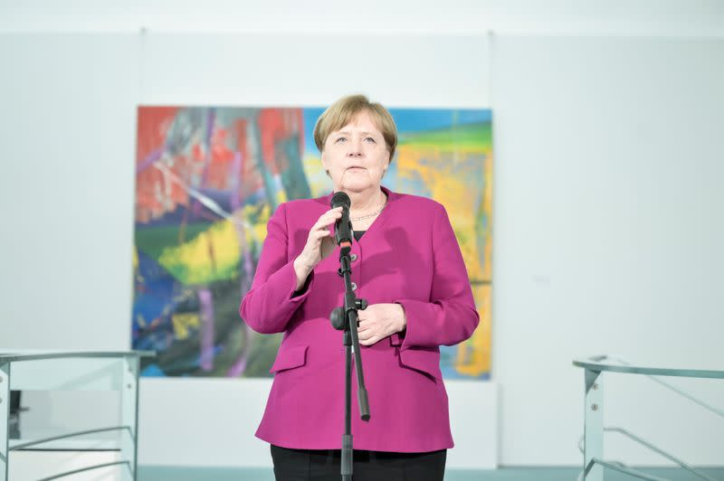 Germany must help other EU states get back on their feet - Merkel