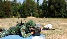 烈嶼守備大隊特等射手鑑測 精進射擊能力