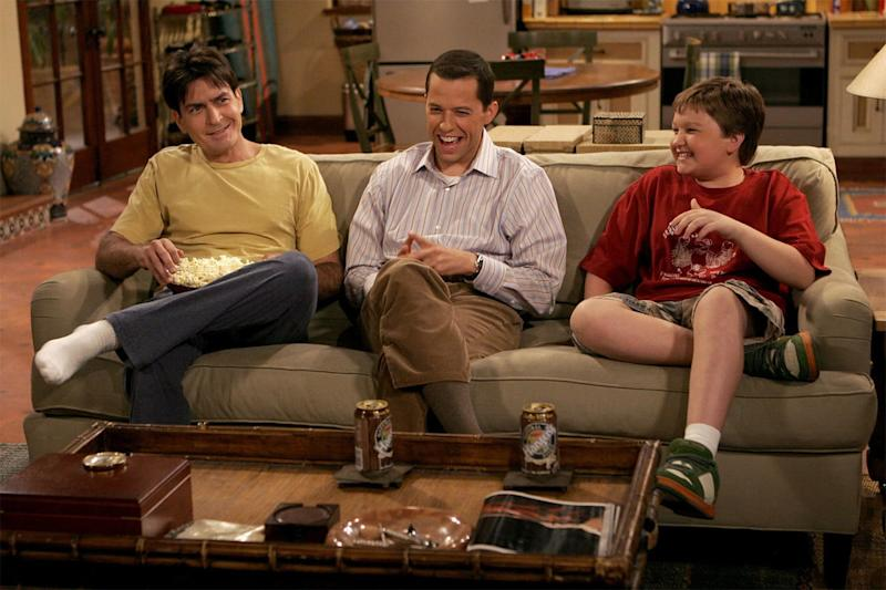 Two and a Half Men on Peacock