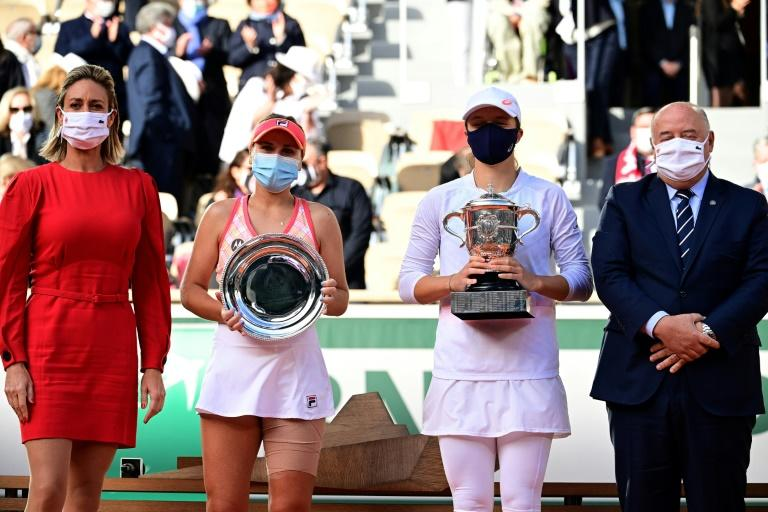 Tearful Kenin admits injury hobbled Roland Garros hopes