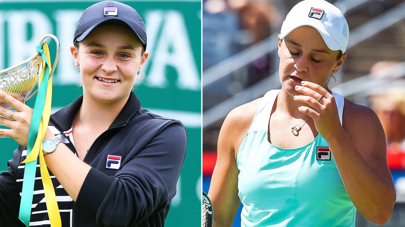 Ashleigh Barty knocked out by Sofia Kenin at Rogers Cup in Toronto