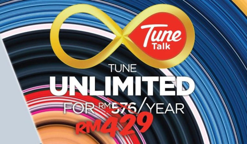 The Tune Talk Unlimited Plan would normally cost you RM576/year (12 x RM48) and AirAsia.com is offering it for only RM429/year. — SoyaCincau pic