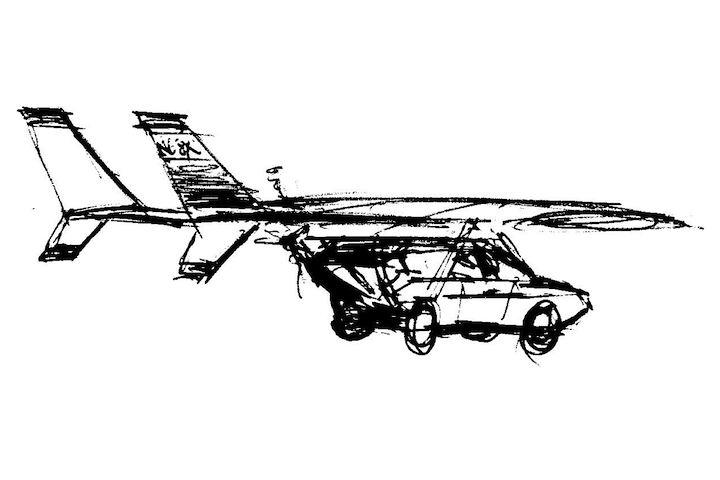 Flying Ford Pinto 2