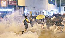 黑暴示威拉逾萬人 僅23%被控