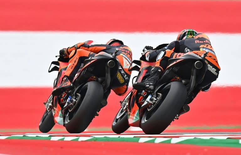 Espargaro tops rain-hit Austrian MotoGP practice