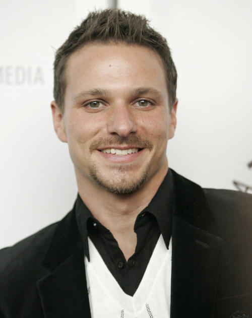 "FILE - This March 21, 2008 file photo shows Drew Lachey at the ""Dancing With The Stars"" panel discussion at PaleyFest 2008 in Los Angeles. ABC says an ""All-Star"" edition of the competition show will bring back 12 former rivals including Pamela Anderson, Kristie Alley, Bristol Palin and previous winner Lachey. In a break from the past, viewers can vote online for the 13th contestant from three former contestants including actors Kyle Massey and Sabrina Bryan and celebrity stylist Carson Kressley. The celebrity dance competition series returns on ABC on Sept. 24. (AP Photo/Dan Steinberg)"