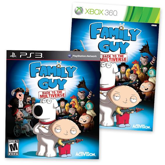 """Family Guy: Back to the Multiverse"" for Xbox 360, Playstation 3 and PC"