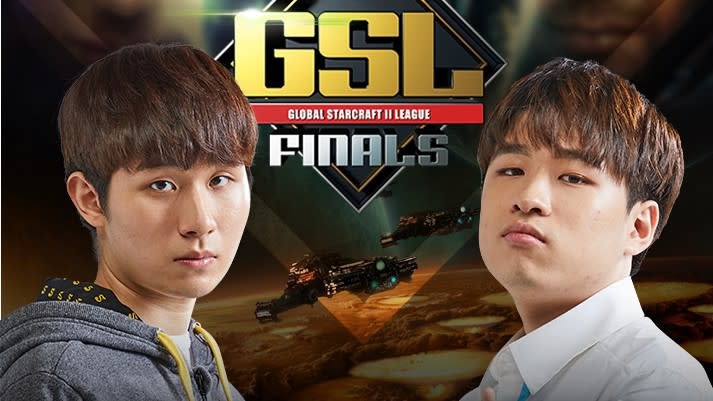 TY(左)、Maru(右)將在週六進行GSL第3季CodeS決賽。