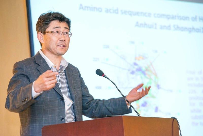 中國科學院院士、中國疾病預防控制中心主任高福。圖:翻攝自微博