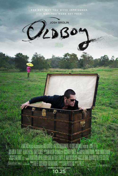 Josh Brolin Set Free in First Poster for Spike Lee's 'Oldboy'